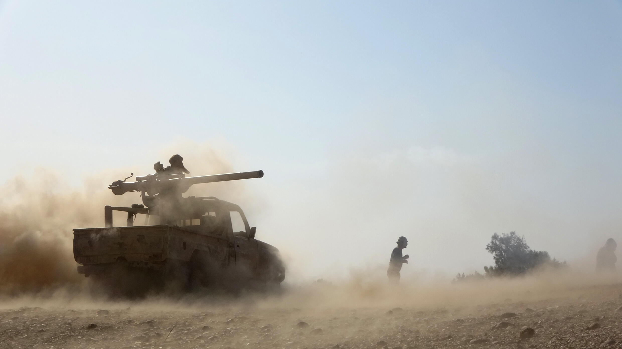 Saudi-backed Yemeni government troops earlier this month  engaged in clashes with Huthi rebels pushing an offensive on oil-rich Marib, some 120 kilometres (75 miles) east of Yemen's rebel-held capital Sanaa
