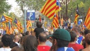 """""""Угнетенные"""" каталонские сепаратисты"""