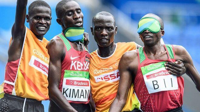 Samwell Kimani, mwanariadha kutoka Kenya, amepata medali ya dhahabu kwa mara ya pili katika mashindano ya Michezo ya wanariadha walemavu.