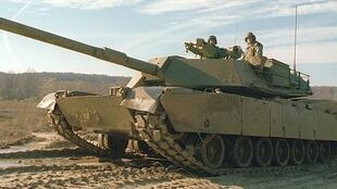 M1艾布拉姆斯主战坦克。