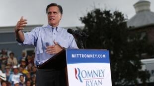 O candidato republicano à Casa Branca, Mitt Romney.