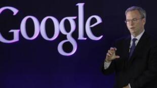 谷歌公司总裁施密特(Eric Schmidt)
