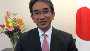 日本新任驻华大使垂秀夫资料图片