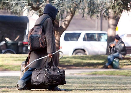 La pauvreté augmente aux Etats-Unis.