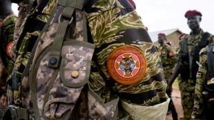 Askari wa jeshi la Sudan Kusini (SSPDF), ambalo zamani liliitwa jeshi la ukombozi wa raia Sudan Kusini (SPLA).