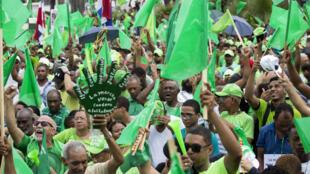 Este 12 de agosto tuvo lugar en Santo Domingo la 'Marcha del Millón' contra la corrupción en República Dominicana.