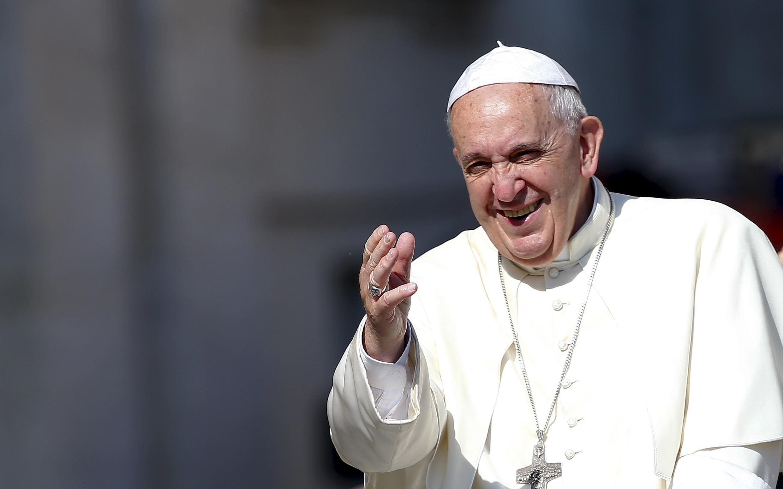 Папа Римский Франциск в Ватикане, 10 июня 2015.