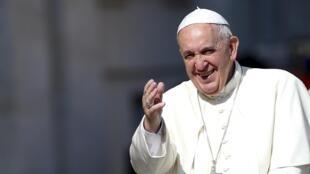 Le pape François, le 10 juin 2015.
