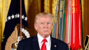 Tổng thống Mỹ Donald Trump, ngày 31/07/2017 tại Nhà Trắng, Washington