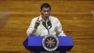 Philippines - Président Rodrigo Duterte AP21207473204861