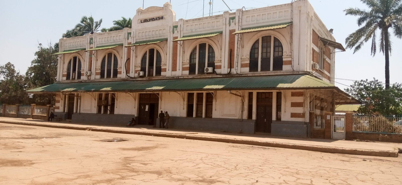 存档图片: 刚果(金)卢本巴希火车站 Image d'archive: La gare SNCC de Lubumbashi.