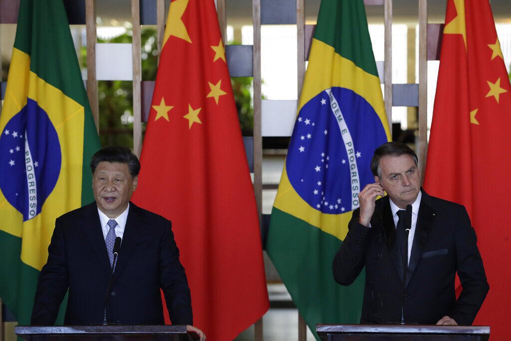 Bolsonaro Xi-Jinping