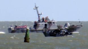 Украинская армия обвинила сепаратистов во взрыве катера под Мариуполем