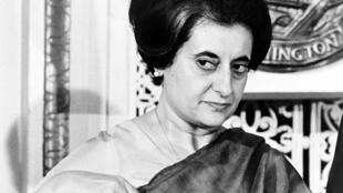 Nữ Thủ tướng Ấn Độ Indira Gandhi, nắm quyền từ 1966 đến 1977.