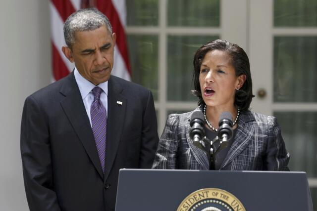 Susan Rice et Barack Obama, le 5 juin 2013.