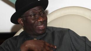 Le chef de l'Etat du Nigeria, Goodluck Jonathan.