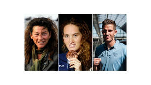 Florence Arthaud یکی از سرشناسترین دریانوردان جهان، Camille Muffat برنده ٣ مدال طلا المپیک 2012 برای شنای ٤٠٠ متر آزاد و Alexis Vastine برنده مدال برنز المپیک 2008 در رشته بُکس