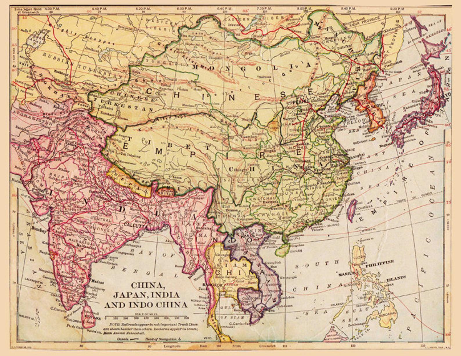 Bản đồ cổ Trung Quốc