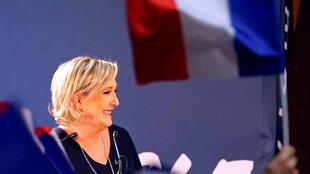 Marine Le Pen, candidate du Front Nationale à la présidentielle, le 15 mars 2017.