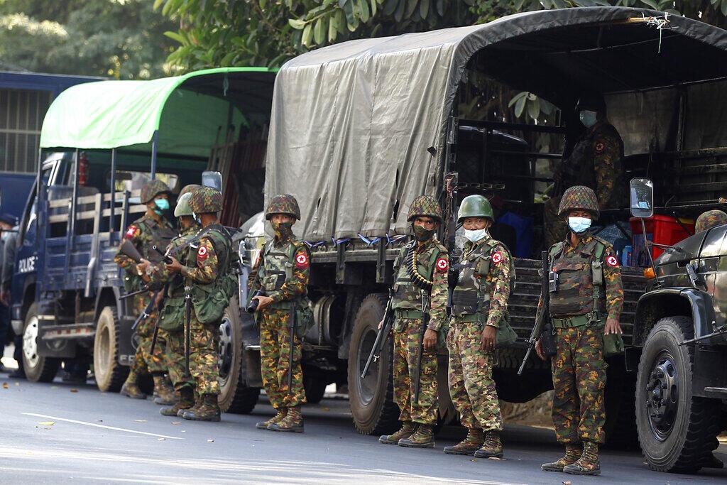 Birmanie - armée - LND