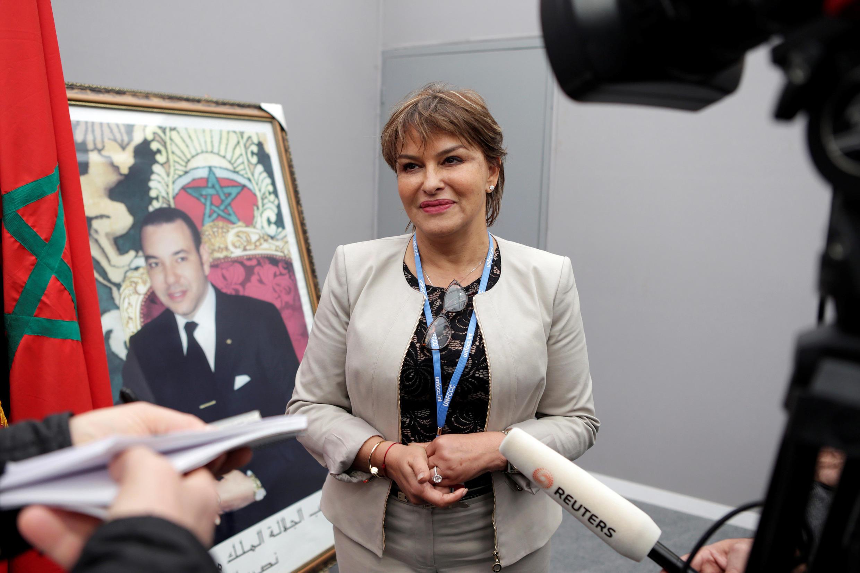 Morocco's Environment Minister Hakima El Haite