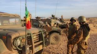 Militares de la fuerza conjunta del Sahel en Mali