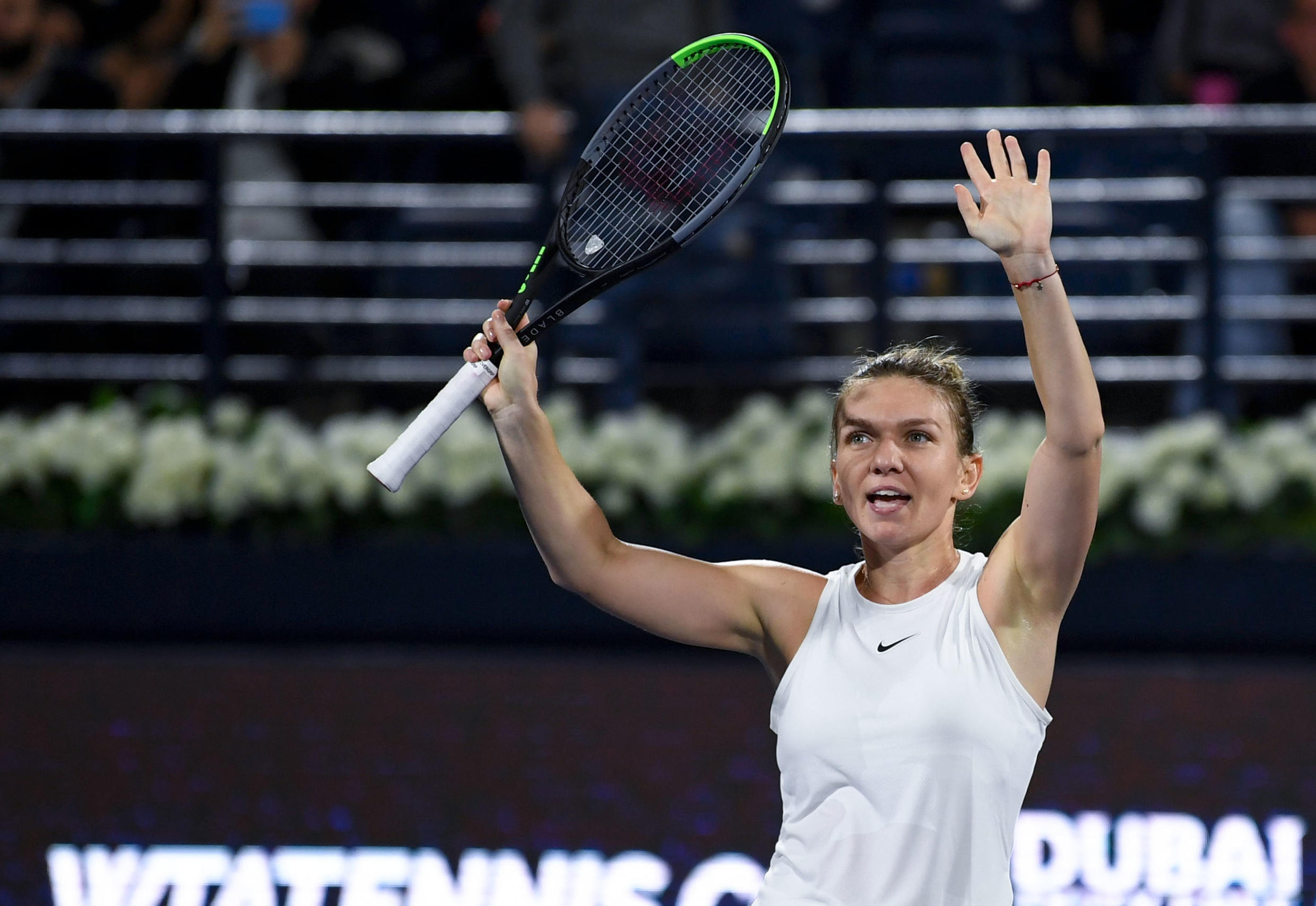 Romanian tennis star Simona Halep says the foot injury that has hampered her since February is improving and she can run without pain