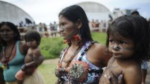 Occupation du barrage de Belo Monte