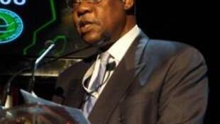 Issa Hayatou, actual presidente da CAF.