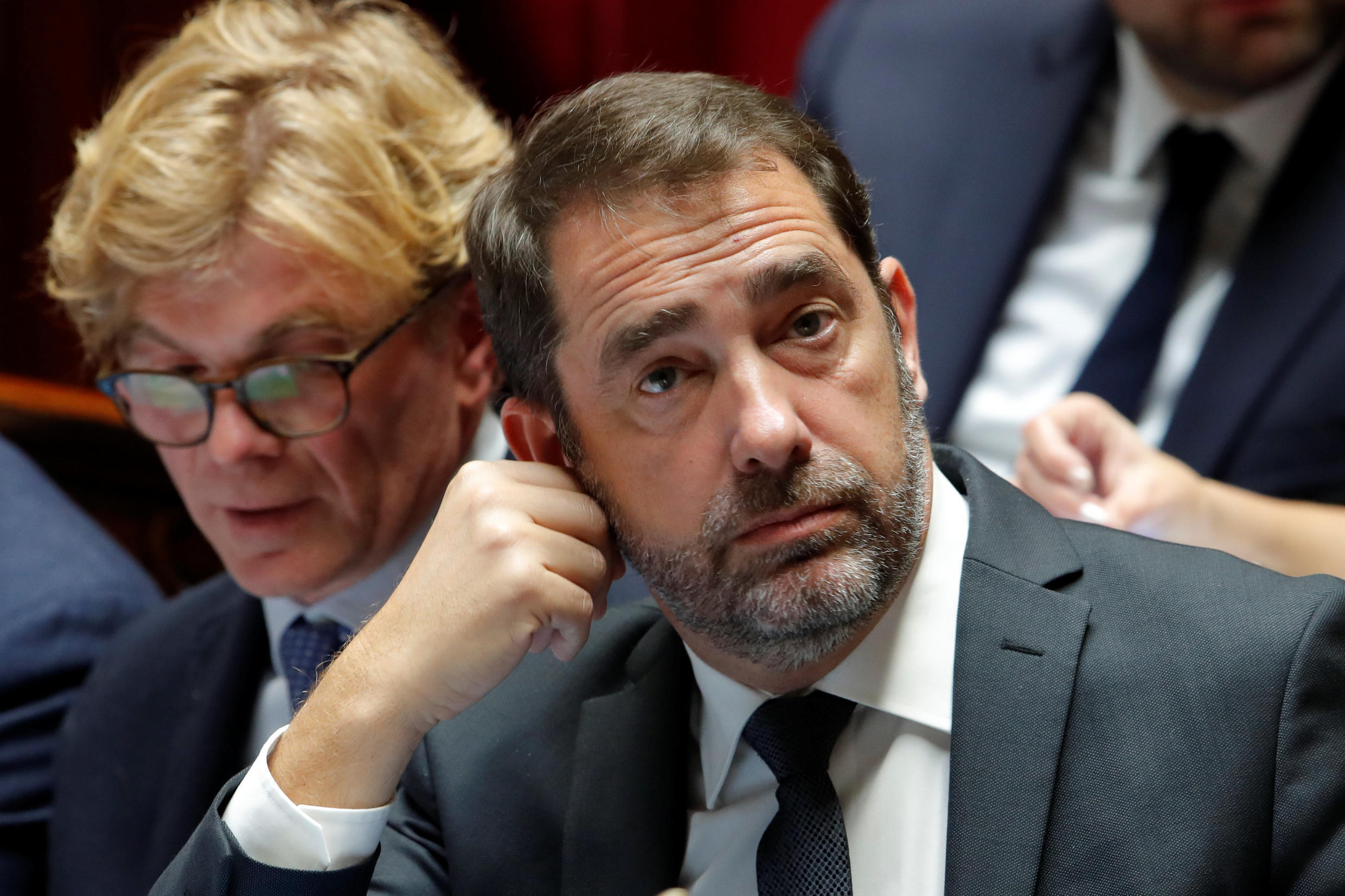 French Interior Minister Christophe Castaner during question time at the National Assembly last month.