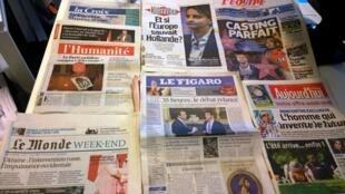 Diários franceses 29/08/2014