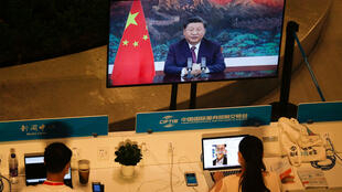 中国国家主席习近平2020年10月13日视察潮汕海军陆战队,呼吁备战。资料图片:摄于2020年9月4日北京