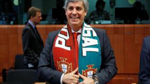 Министр финансов Португалии Марио Седено, Брюссель, 11 июля 2016 г.