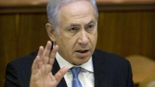 Le premier ministre israélien Benjamin Netanyahu,  le 1 août 2010.