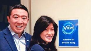 杨安泽和妻子