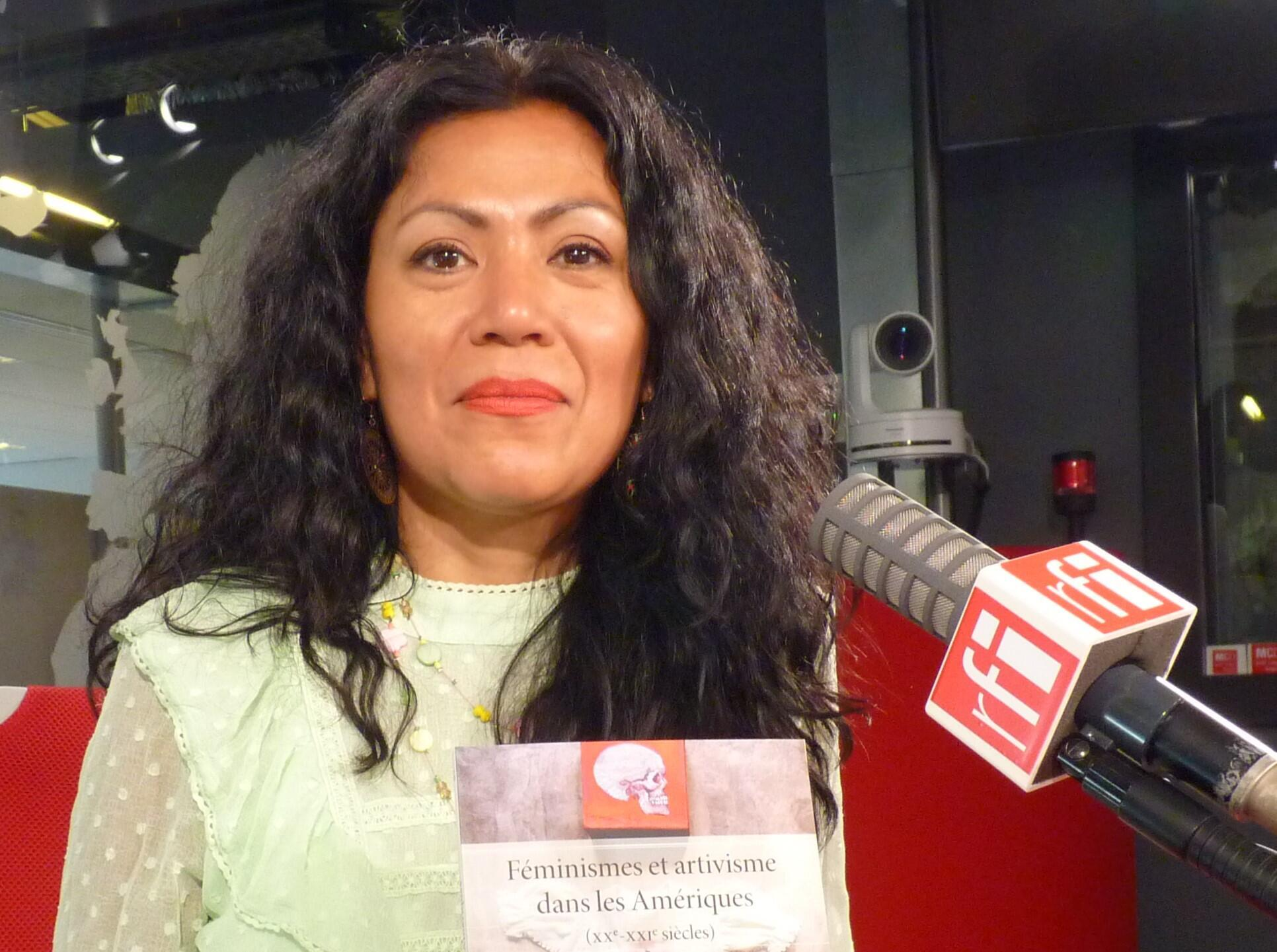 La historiadora peruana Lissell Quiroz