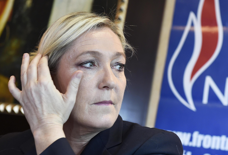 Front National leader Marine Le Pen