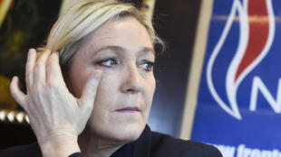 Front National leader Marine Le Pen