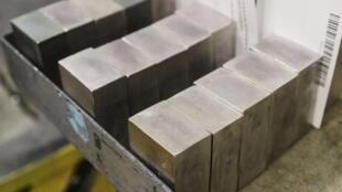 Production de palladium dans une usine (image d'illustration).