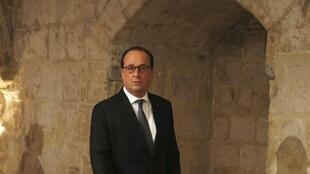 French President Francois Hollande at the Valletta Summit on Migration
