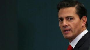 """""""México não acredita em muros"""", disse presidente Enrique Peña Nieto em 26 de janeiro de 2017"""