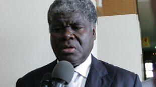 Robert Mambe Beugre, président de la Commission électorale indépendante en Côte d'Ivoire