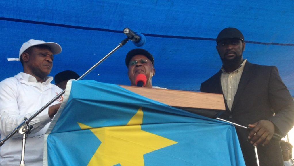 Kiongozi wa upinzani nchini DRC Etienne Tshisekedi