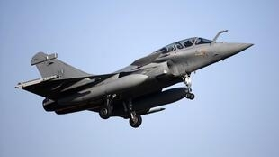 Un chasseur «Rafale» de fabrication Dassault.