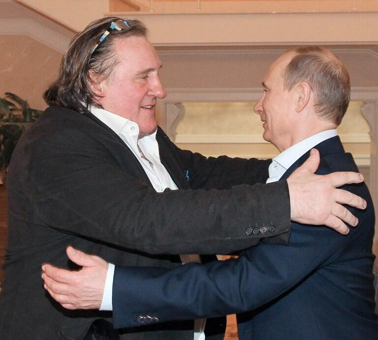 «Что мне нравится в Путине – это что он такой как есть», – говорит Жерар Депардье.