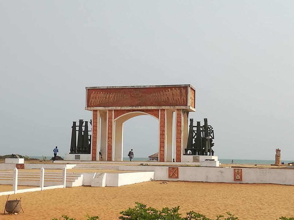 La porte du non retour à Ouidah, au Bénin.