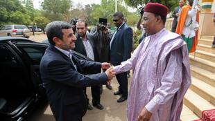 دیدار محمود احمدینژاد با رییس جمهور نیجر