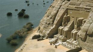 Храм Рамзеса II в Абу Симбел. Египет