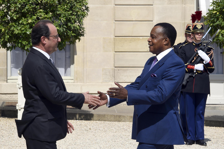 Denis Sassou-Nguesso reçu à l'Élysée avant le