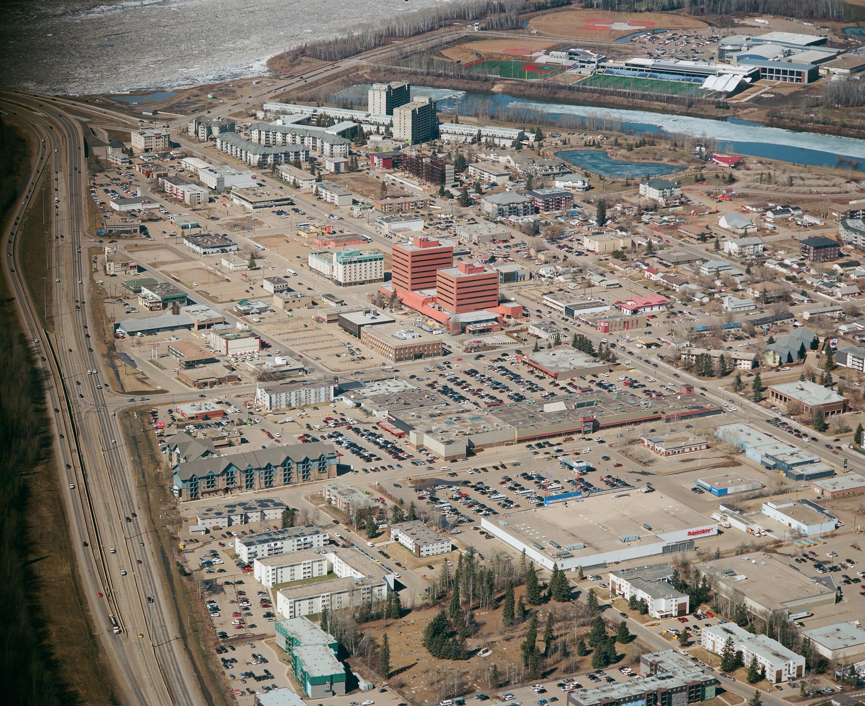 Fort McMurray, dans la province de l'Alberta, a déjà subi un gigantesque incendie en 2016.